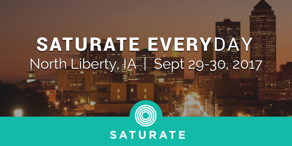 North Liberty Iowa Saturate Everyday Event
